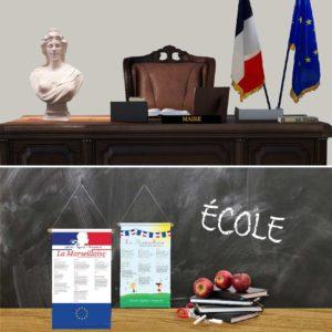 ACCESSOIRES POUR MAIRIES / ÉCOLES